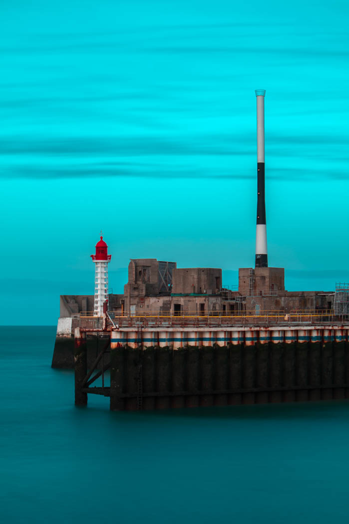Le Havre : La digue