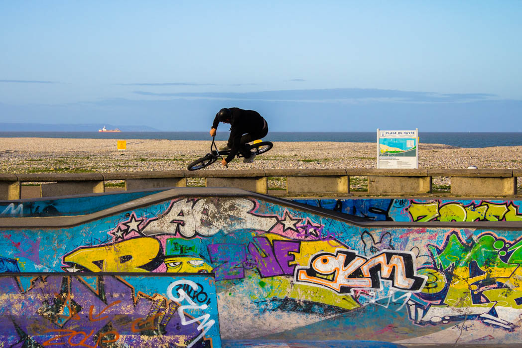 Le Havre : SkatePark